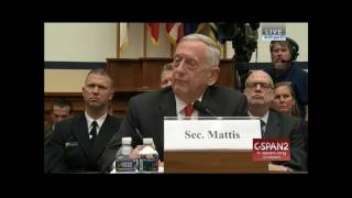 TG questions Mattis, Dunford on Syria policy.