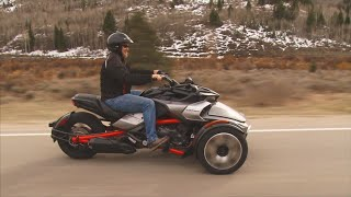 6. Can-Am Spyder F3 Review