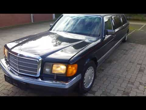 1988 Mercedes-Benz 560 SEL W126 Stretch Limousine 1000 SEL for sale