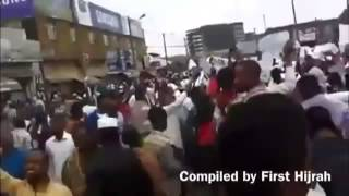 Ethio  Muslims stage a huge nationwide protest against The Government on July 04, 2014