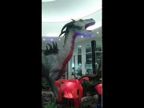 Dragões, exposição em Uberaba-MG- Exposure dragons - city Uberaba, Brazil