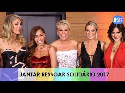 #TELEVISIVO CONVERSA COM FAMOSOS NO JANTAR RESSOAR SOLIDÁRIO 2017