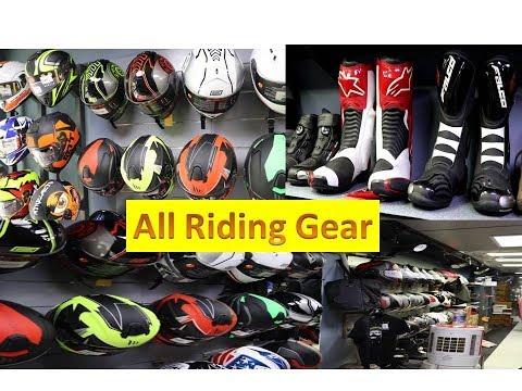 Bike Riding gear//Helmet,Jacket,Boots,bag//delhi riding gear market