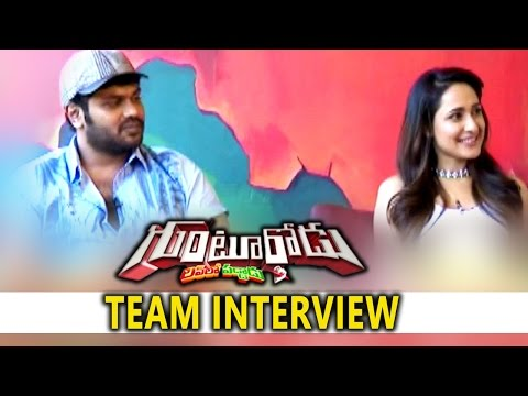 Gunturodu Movie Team Interview || Manchu Manoj, Pragya Jaiswal