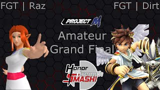 Project M Extravaganza 3 Amateur Grand Final: FGT | Raz (Zelda) v. FGT | Dirt (Pit, Wolf) – An Interest Matchup to Behold