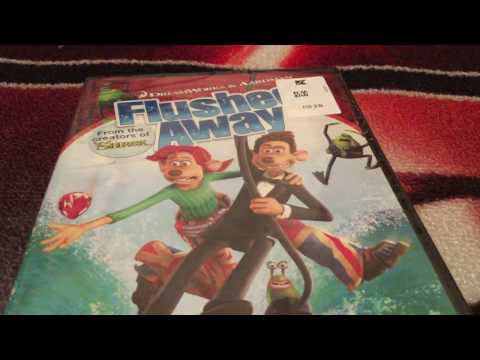 Quickie UNBOXING: Flushed Away DVD (READ DESCRIPTION)