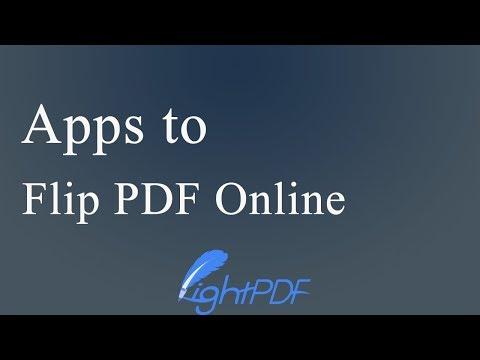 Apps to Flip PDF Online