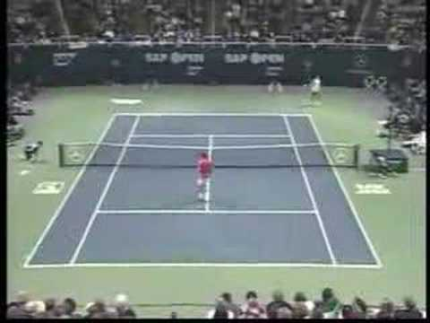 Best of Roddick's backhand shots