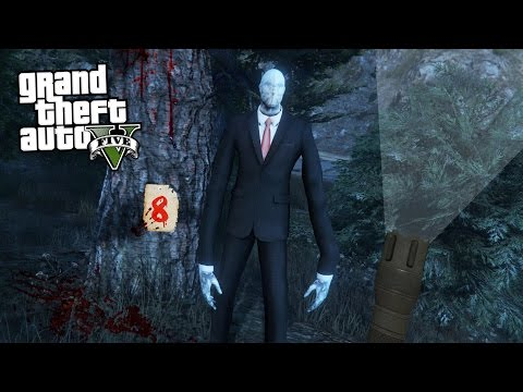 GTA 5 Mods - ULTIMATE SLENDER MAN MOD!! GTA 5 Slender Man Mod Gameplay! (GTA 5 Mods Gameplay) (видео)