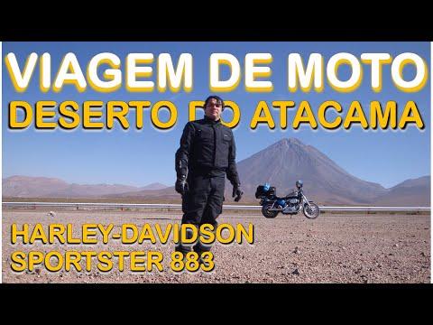 Viagem de moto ao Atacama