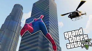 Video ÖRÜMCEK ADAM!! - GTA 5 Spiderman Modu MP3, 3GP, MP4, WEBM, AVI, FLV Desember 2017