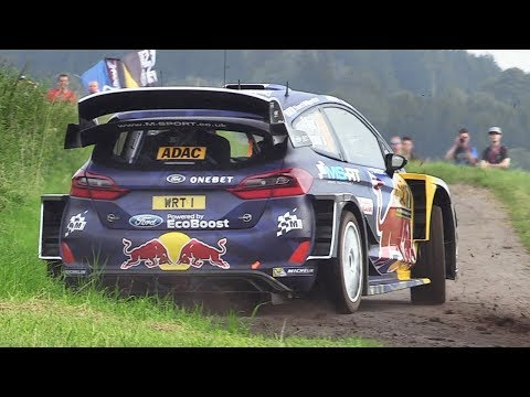 WRC Rallye Deutschland 2017 - Shakedown Action & Sounds