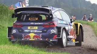 Video WRC Rallye Deutschland 2017 - Shakedown Action & Sounds MP3, 3GP, MP4, WEBM, AVI, FLV Agustus 2017