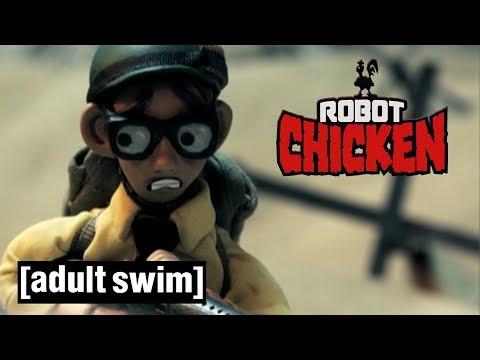 3 Steven Spielberg Classics | Robot Chicken | Adult Swim