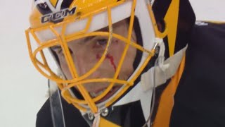 Fleury Cut After High Stick From Lovejoy