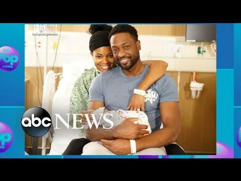 Gabrielle Union, Dwyane Wade welcome 'miracle baby' girl