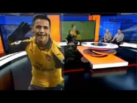 West Ham United vs Arsenal 1:5 MOTD pundits on Alexis Sanchez brilliance