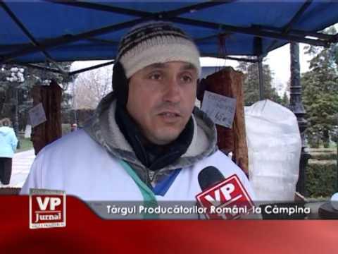 Târgul Producătorilor Români, la Câmpina