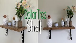 Dollar Tree DIY SHELF | DIY Bookshelf