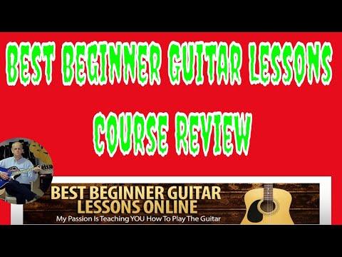 Best Beginner Guitar Lessons Course Review – Beginner Guitar Lesson