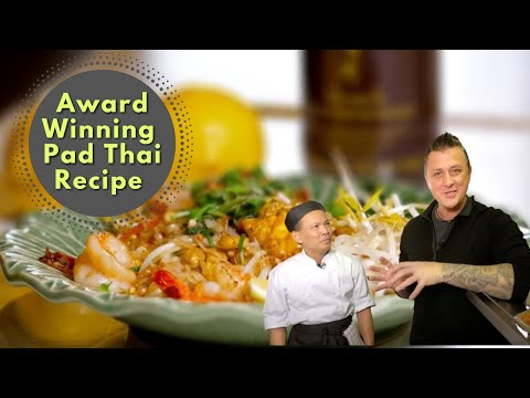 Pad Thai Recipe, from award winning Ying Thai 2 Restaurant ❤️️