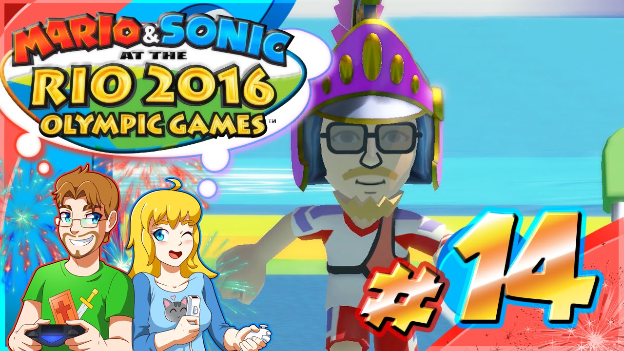 Mario & Sonic at the Rio Olympic Games Part 14 LONG JUMPING (HD)