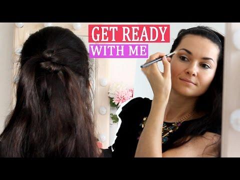 Прическа и макияж на свидание своими руками