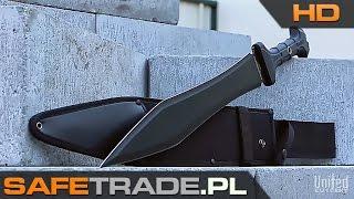 KUP TERAZ / Buy It Now: http://safetrade.pl/united-cutlery-miecz-maczeta-gladiator-commanderFacebook: http://www.facebook.com/SafeTradeMiecz Combat Commander Gladiator Sword United Cutlery  www.safetrade.plTakiego narzędzia jeszcze nie widziałeś. Profesjonalny miecz-maczeta wzorowany na doskonałych, rzymskich mieczach. Combat Commander Gladiator Sword posiada niesamowicie potężne ostrze, wykonane z jednego, ostrego jak brzytwa, kawałka wysokiej jakości węglowej stali 1060. Pewność chwytu zapewnia gumowana rękojeść wykona z TPR. W zestawie znajduje się także bardzo mocne, wykonane ze wzmacnianego nylonu etui (pochwa), gotowe do noszenia przy pasie. Etui umożliwia wygodne i bezpieczne przenoszenie miecza, zarówno przy sobie jak i w bagażu. Zapraszamy dooglądania naszej prezentacji wideo HD tego produktu!  [UC-30] United Cutlery™ Miecz Maczeta Combat Commander Gladiator Fabrycznie nowy, oryginalny produkt amerykańskiej firmy United Cutlery™ Unikalny i niepowtarzalny miecz w stylu broni gladiatorów Miecz z najnowszej serii United Cutlery, niedostępny w PL Miecz jak i rękojeść są w kolorze czarnym Pewny chwyt dzięki gumowanej rękojeści wykonanej z TPR Ostrze wykonane ze stali 1060 (carbon steel blade) Całkowita długość miecza wynosi 24 cale (ok. 61 cm) Długość samego ostrza to 16 5/8 cala (ok. 42 cm) W zestawie świetne etui wykonane ze wzmacnianego nylonu Miecze są bardzo ostre (przychodzą fabrycznie naostrzone) Produkt w oryginalnym opakowaniu producenta Unikalny towar w świetnej cenie (niedostępny w polskich sklepach) Prosto od producenta, produkt fabrycznie nowy w oryginalnym opakowaniu W zależności od dostawy produkt może różnić się opakowaniem zewnętrznymwww.safetrade.pl, safetrade.pl, safetrade, www_safetrade_pl, www-safetrade-pl, sklep, store, unboxing, miecz, combat commander, gladiator, sword, maczeta, united cutlery