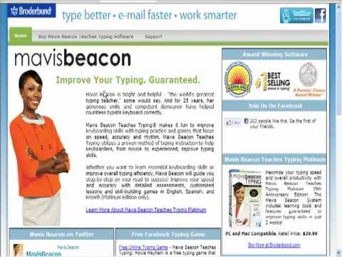 Touch Typing   Internet Marketing Tools