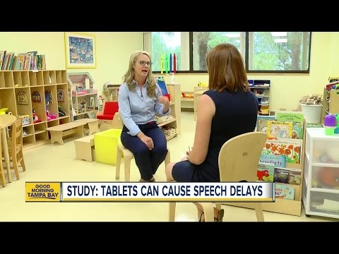 Study: Tablets can cause speech delays in kids