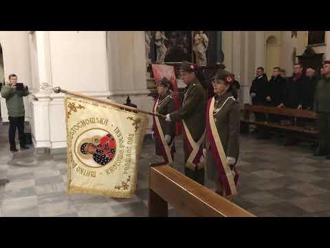 Wideo1: Poświęcenie sztandaru TG Sokół w Lesznie