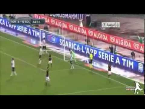 Roma vs Bologna 5-0 | 29/09/2013 | All goals & Highlights