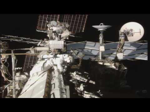 為太空計程車準備  國際太空站開始翻新[影]