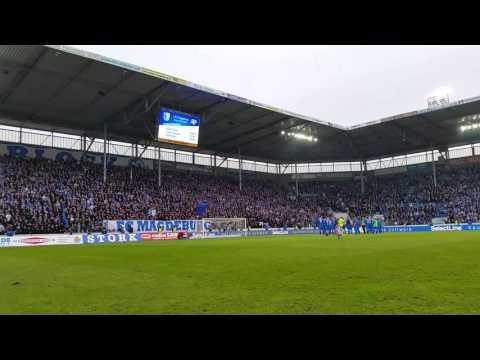 Video: Das Einklatschen nach dem Sieg gegen den FC Hansa Rostock