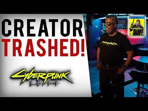 Journalists TRASH Cyberpunk Creator Mike Pondsmith's Defense of Cyberpunk 2077 From Outrage!