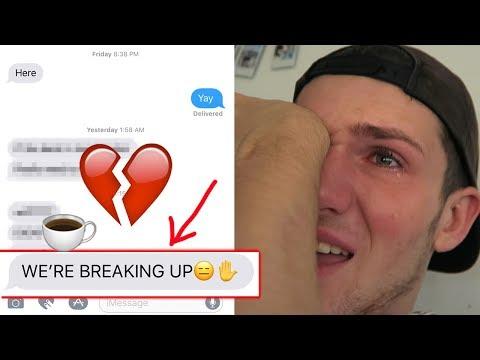 We're breaking up... (Prank) *Backfires*