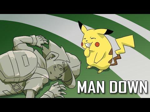 Pokemon Rap - Man Down ft. G.Yee, Shofu Tha Beatdown & TokenBlack (Prod. UBERBEATS)