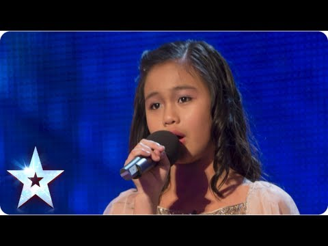 singing - Angelic 11-year old Arisxandra Libantino sings her way into the Judges' hearts The little girl with the BIGGEST voice loves singing even more than ice cream ...