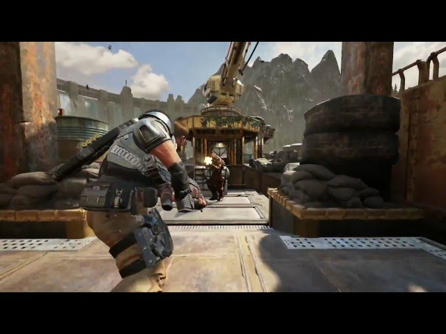Gears of War 4 Official Versus Multiplayer Gameplay Trailer