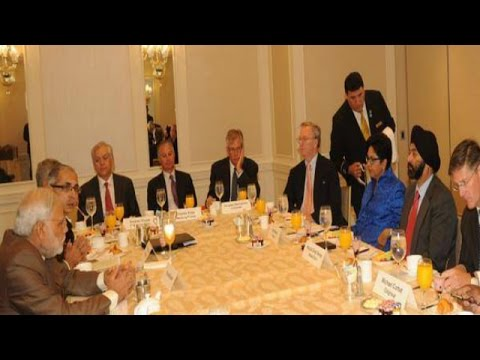 meets - After enthralling thousands of Indian Americans at Madison Square Garden, Prime Minister Modi meets 11 top business big wigs in New York. The business engagement is among the most important...