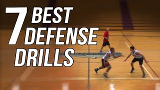 The 7 Best Defense Drills For Basketball - From Top Defensive Expert!