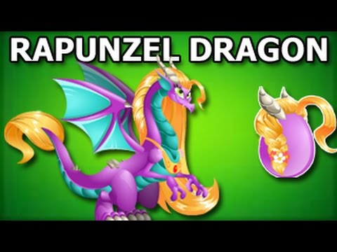 dragon city - HTTP://WWW.DRAGONCITYGUIDE.COM How To Get RAPUNZEL DRAGON Offer in Dragon City Rapunzel Dragon is one of the most beautiful creatures in Dragon City. Her lon...