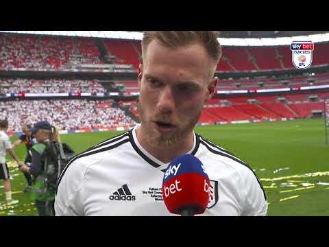 """I'm just so proud!"" | Fulham 1-0 Aston Villa | Championship Play-Off Final"