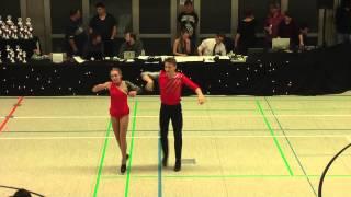 Bianca Brödner - Nick Codagnone - 30. Herbstmeisterschaft 2014