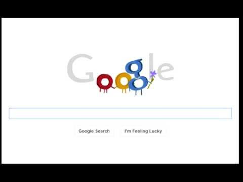 Image of Mother`s Day 2012 Animated Google Doodle Logo