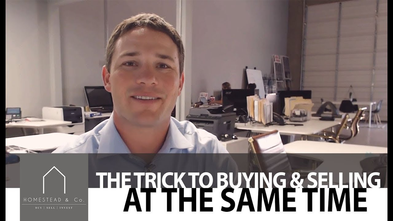 The Trick to Buying and Selling at the Same Time