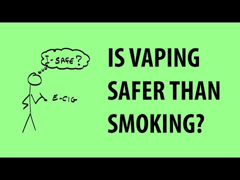 Electronic cigarettes and health – the basics