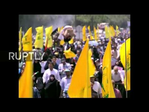 """Al-Kudsz Nap Iránban, rakétákkal és """"Halál Izraelre"""" felkiáltásokkal"""