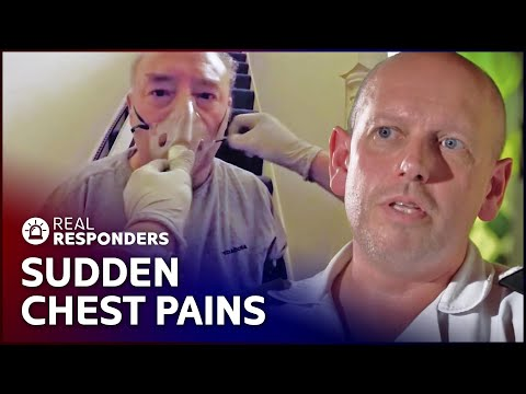 Patient's Sudden Chest Pains Terrify Everyone | Inside The Ambulance SE1 EP7 | Real Responders