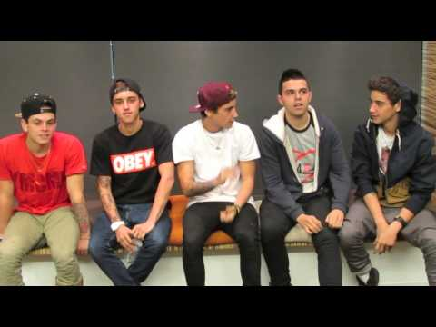 An OCEANUP Interview with The Janoskians (видео)
